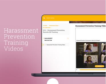 Harassment Prevention, Kantola HR Training